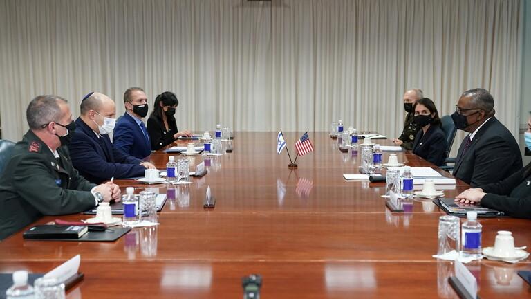 وزير الدفاع الأمريكي يطمئن بينيت: سنضمن لإسرائيل القدرات لتحمي نفسها من إيران