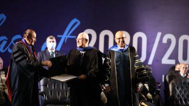 جامعة النيل الأهلية تمنح المستشار عدلي منصور الدكتوراه الفخرية