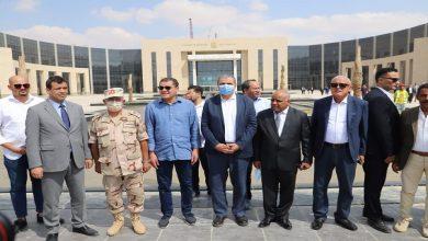 رئيس حكومة الوحدة الوطنية الليبية يتفقد العاصمة الإدارية الجديدة